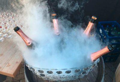 Hochzeit Champagner